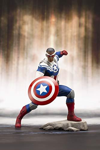 America Statue - Kotobukiya Marvel Universe: Captain America Sam Wilson Artfx+ Statue