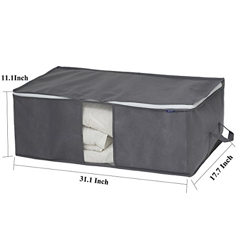 Review Surblue Bamboo Under-bed Storage