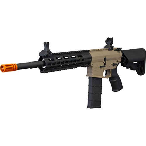 (Tippmann Tactical Commando AEG Carbine 14.5in Airsoft Rifle Tan)