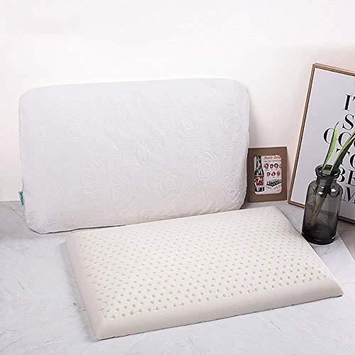 Do4U Slim Sleeper- Natural Latex Foam Pillow, THIN, ONLY 2.7 '' tall...