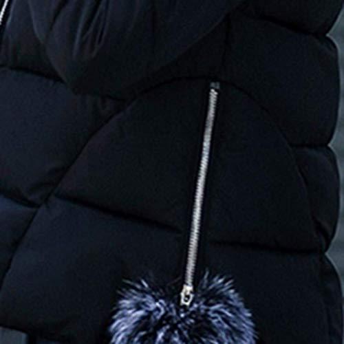 Chaqueta Sintético Unicolor con Chaqueta De Viento Cremallera De Abrigos Outwear Larga Moda A De Cuero Prueba Joven Piel Cuello Manga Cuero Mujer Bk Invierno Modernas rH8qarv0