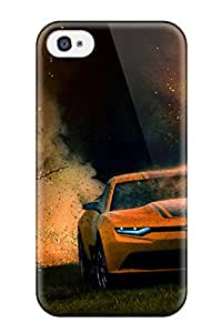 Christopher B. Kennedy's Shop Best Awesome Design Bumblebee Camaro In Transformers 4 Hard Case Cover For Iphone 4/4s 8303189K90631556