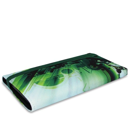 Stilbag Funda MIKA para HTC One (M8) - Diseño: Abstract Green