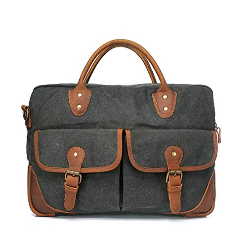 Briefcase Bandoulière Messenger Couleur À Sacoche Color color Zipper Simple D'ordinateur Sac Gray Houyazhan Retro Coffee Bleu 4YvqtxYz