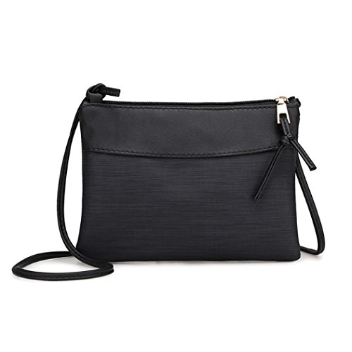 Stylish in Bag Women Retro Design for Black CieKen Purses Crossbody Shoulder Bags 4wxSq4Bd8