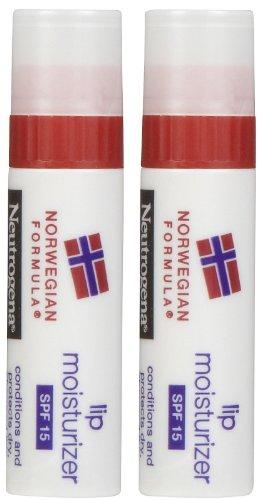 Neutrogena Lip Moisturizer SPF 15, 2 pack
