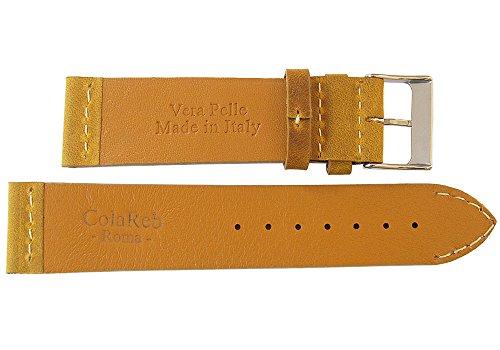 ColaReb 20mm Venezia Ocher Leather Watch Strap by ColaReb (Image #1)