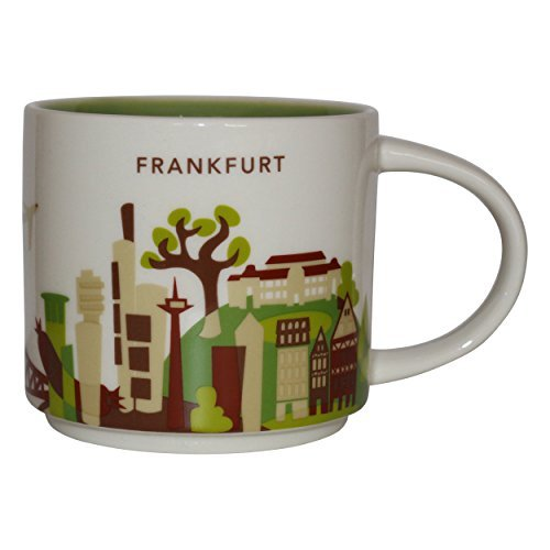 Starbucks City Mug You Are Here Collection Frankfurt a. Main Coffee ()