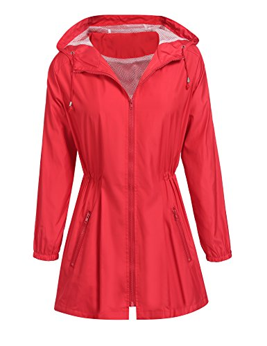 Red All Weather Jacket - 5