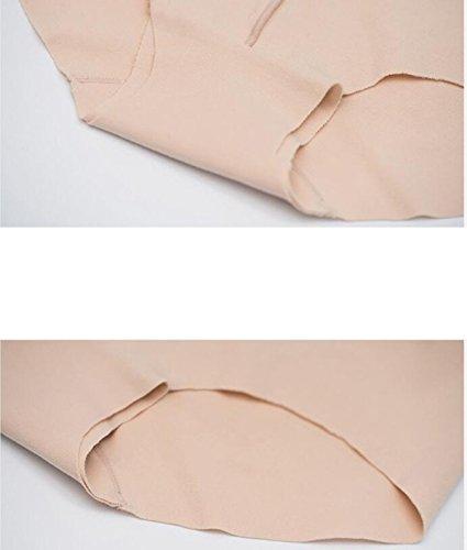 Mujer Ropa Interior De Algodón Modal 2017 Escritos De La Manera Sin Costura [2 Paquetes] Pink