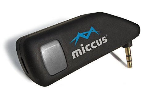 Miccus Mini-jack TX4 - LOW LATENCY Bluetooth transmitter, ideal for adding wireless audio to TV, PC, iPod, Kindle, DVD; Pairs with Amazon Echo and Tap (Dual-Link)