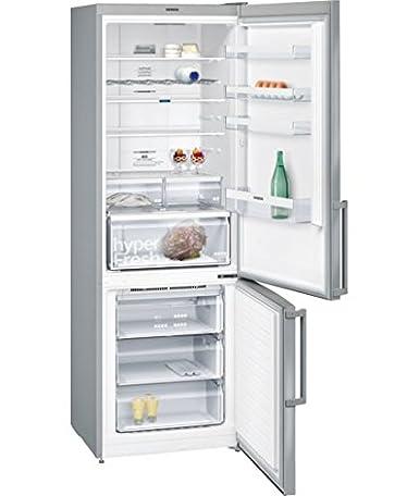 Siemens iQ300 KG49NXI40 nevera y congelador Independiente Acero ...