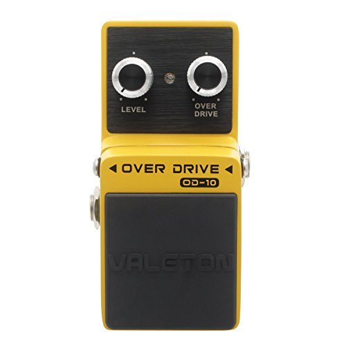 Valeton Overdrive Analog Signal Path Guitar Effect Pedal, Featuring True Bypass Wiring, Tone Switch and Quality Components by Valeton