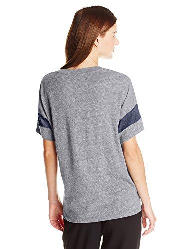 shirt Eco Navy True Solid Alternativa Grigio maniche eco corte Donna T U5xqpnP
