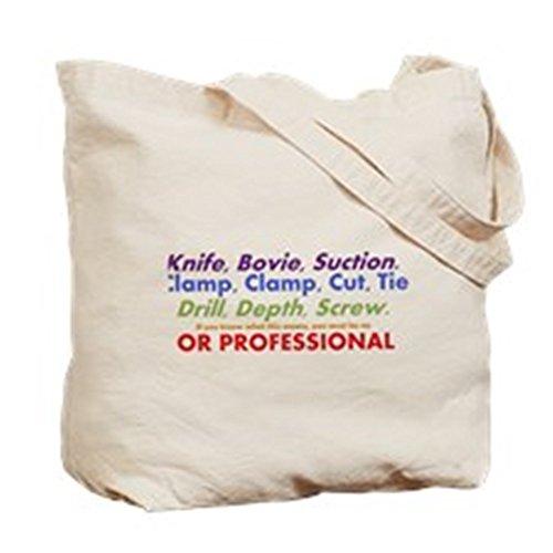 Cafepress–ST cutting Edge–Borsa di tela naturale, tessuto in iuta