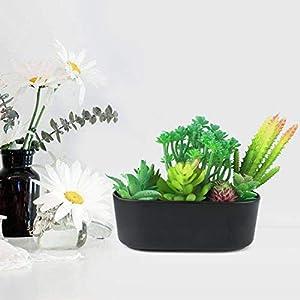 Childom Faux Succulents,15 Artificial Succulents Plants Flocked Green Unpotted Fake Succulents Stems Bouquet String of Pearls Echeveria Succulents for Floral Arrangement 7