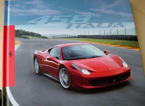 Official Ferrari 458 Italia Hardcover Brochure - Ferrari Color Official