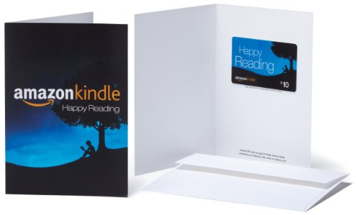 Amazon.com $10 Gift Card in a Greeting Card (Amazon Kindle Design)