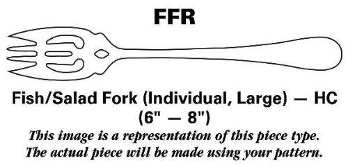 Ginkgo Lafayette (Stainless) Fish/Salad Fork Individual Large HC