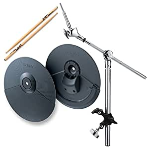 roland cy 5 dual trigger cymbal pad w mdy 12 hatched mount zildjian trigger wood. Black Bedroom Furniture Sets. Home Design Ideas
