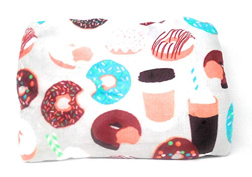 The Big One Throws, Assorted Designs (Beige - Donuts) -