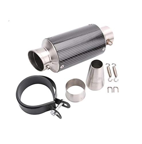 Carbon Yoshimura Race Exhaust - Huashao Motorcycle Exhaust Pipe, Carbon Fiber High Temperature Muffler, Suitable for Yoshimura Leovince Modification