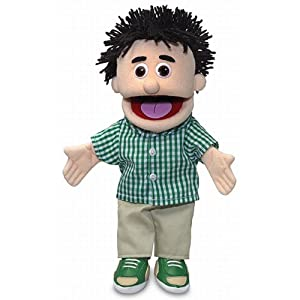 "14"" kenny, peach boy, hand puppet - 41dVdr5QATL - 14″ Kenny, Peach Boy, Hand Puppet"