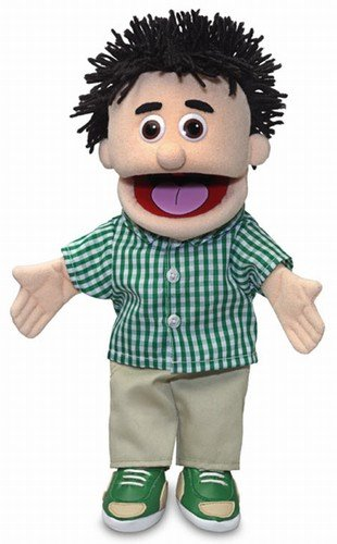 14'' Kenny, Peach Boy, Hand Puppet by Silly Puppets (Image #1)