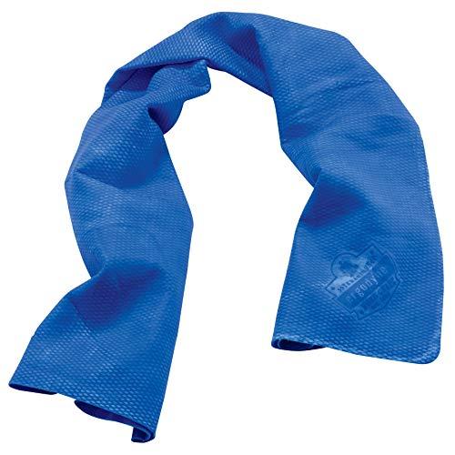 (Ergodyne Chill-Its 6602 Evaporative Cooling Towel, Blue)