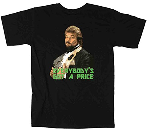 The Silo BLACK Million Dollar Man WWF T-Shirt ADULT by The Silo