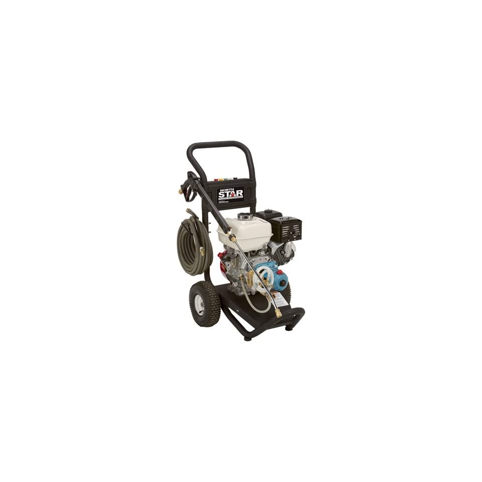 NorthStar Gas Cold Water Pressure Washer   3300 PSI, 3.0 GPM, Honda Engine, Model# 15781820