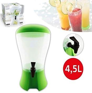 Takestop® Dispensador para bebidas 4,5 litros con grifo dispensador dispensador agua Bebidas Color aleatorio: Amazon.es: Electrónica