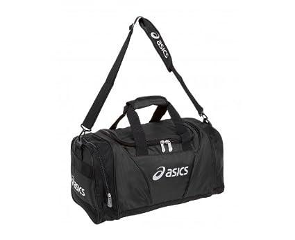 bf91080eb95 ASICS Small Duffle Bag, Red/Black: Amazon.co.uk: Luggage