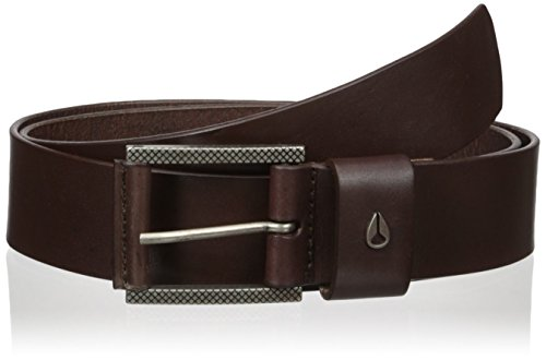 Nixon Men's Americana Belt II, Dark Brown, Large Americana Belt