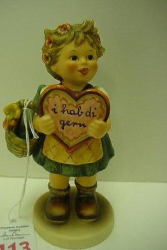 Hummel Figurine - Valentine Gift # 387 - Girl with ()
