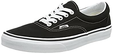 Vans Men's VANS ERA SKATE SHOES 4 (BLACK)