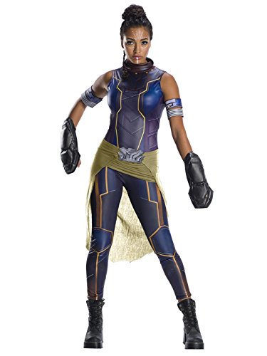 Rubie's Women's Standard Deluxe Shuri Costume, As Shown, Large