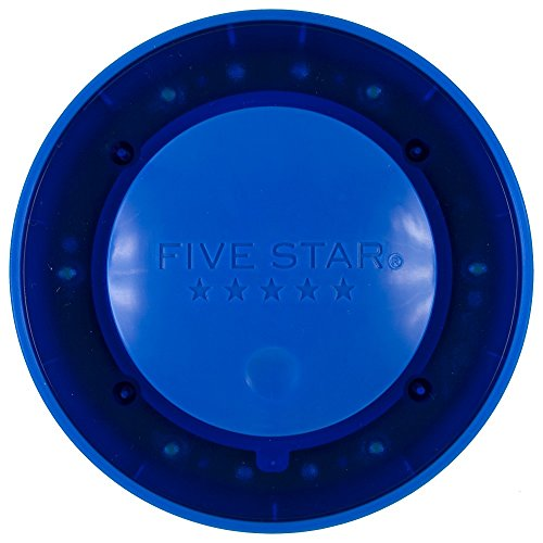 Five Star Push Button Locker Colored Light, LED, Locker Accessories, Blue, 4 in. x 1.1 in. x 4 (73565) Photo #3