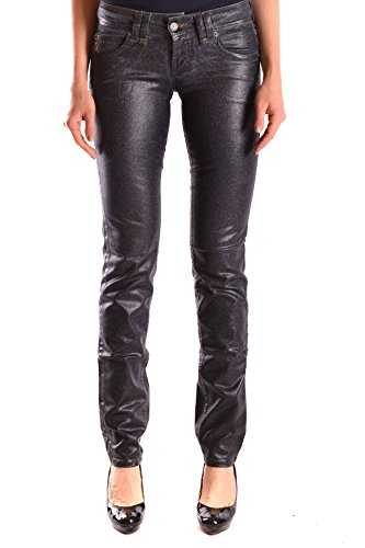 Galliano Femme MCBI130058O Noir Coton Jeans