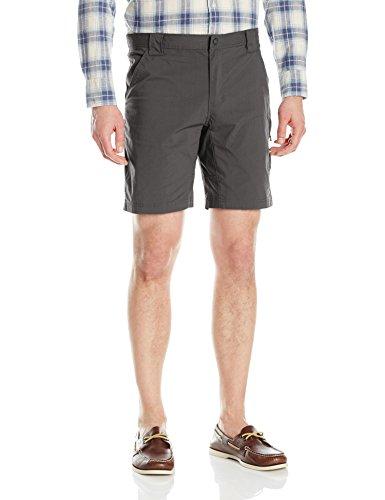 (Woolrich Men's Outdoor Modern Fit Short, Matte Gray, 36)