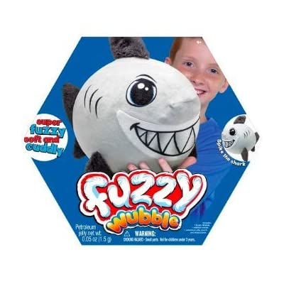 Fuzzy Wubble Spike The Shark: Toys & Games [5Bkhe1105868]