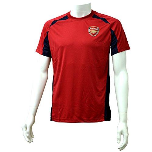 Arsenal Men's Training T-shirt - Navy/red, Medium - Arsenal Training Jersey
