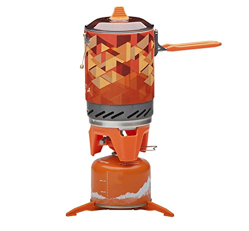 Bounabay Personal Cooking System Outdoor Hiking Camping Equipment Oven Portable Propane Gas Stove Burner,1L
