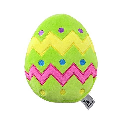 (Midlee Plush Easter Egg Dog Toy with Squeaker)