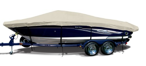 Linen Exact Fit Boat Cover Fitting 2002-2004 Ski Centurion Avalanche C-4 W/proflight Tower Doesn't Cover Platform Models, 9.25 oz. Sunbrella ()