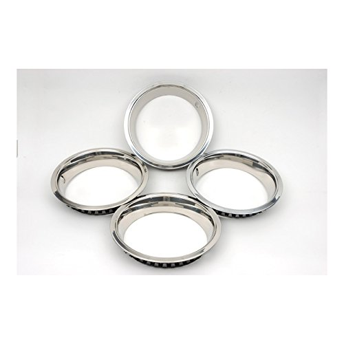 Eckler's Premier Quality Products 33-183879 Camaro Super Sport (SS) Wheel Trim Ring Set, 14 x 7, With Inside Style Clips,