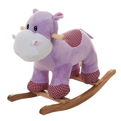Happy Trails Henrietta the Rocking Hippo - Great for the Kids