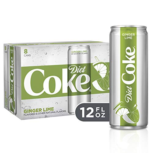 Sauce Lime Orange (Diet Coke Ginger Lime Soda Soft Drink, 12 fl oz, 8 Pack)