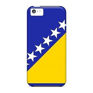 For Iphone 5c Fashion Design Bosnia And Herzegovina Flag Case-Hgb5006yLBn