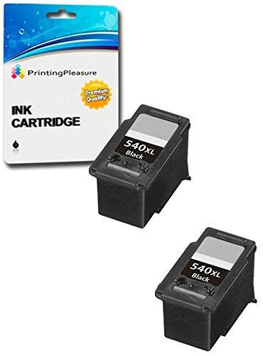 2 XL Negro Cartuchos de Tinta compatibles para Canon Pixma MG4250 MG4150 MG3650 MG3550 MG3250 MG3150 MG2250 MG2150 MG3500 MG3600 MX455 MX475 MX515 ...